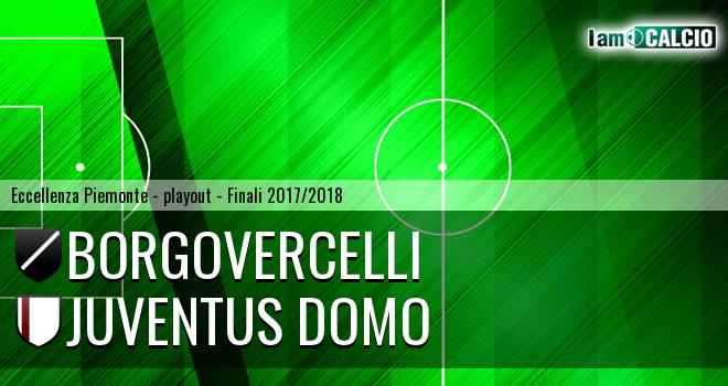 Borgovercelli - Juventus Domo 2-0. Cronaca Diretta 20/05/2018