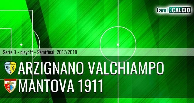 Arzignano Valchiampo - Mantova