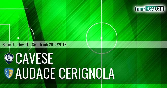 Cavese - Audace Cerignola 1-0. Cronaca Diretta 13/05/2018