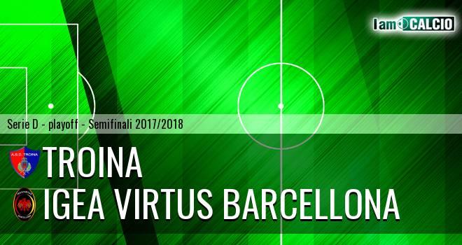 Troina - Igea Virtus Barcellona