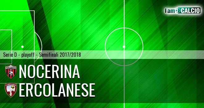 Nocerina - Ercolanese 0-1. Cronaca Diretta 13/05/2018