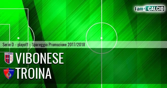 Vibonese - Troina 5-3. Cronaca Diretta 13/05/2018