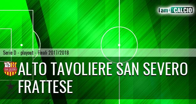 Alto Tavoliere San Severo - Frattese 1-2. Cronaca Diretta 19/05/2018