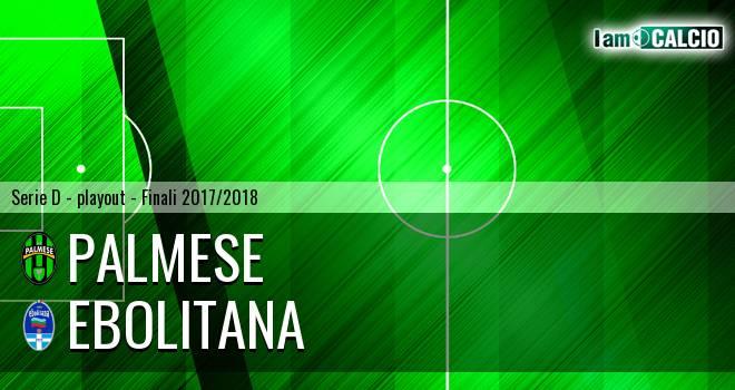 Palmese - Ebolitana 3-0. Cronaca Diretta 20/05/2018