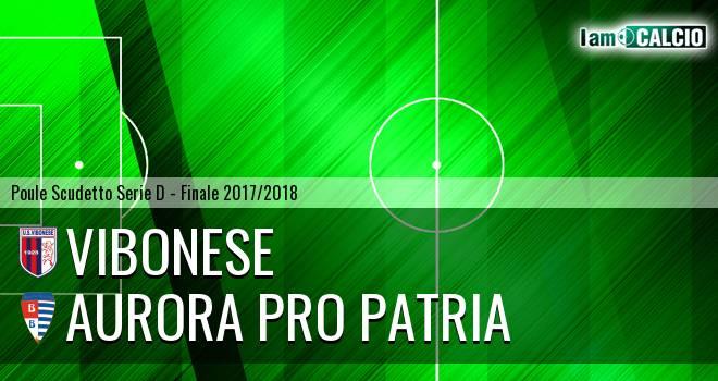 Vibonese - Aurora Pro Patria