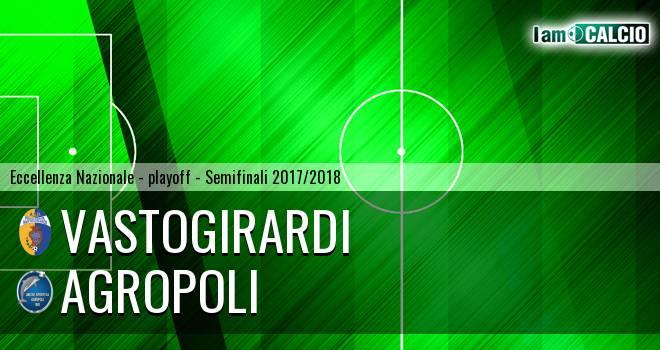 Vastogirardi - Agropoli 1-1. Cronaca Diretta 19/05/2018