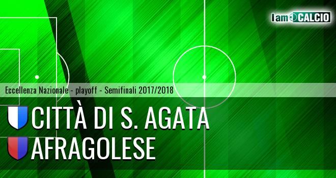 Città di S. Agata - Afragolese 0-1. Cronaca Diretta 20/05/2018
