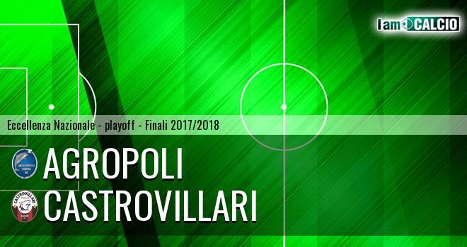 Agropoli - Castrovillari 1-1. Cronaca Diretta 03/06/2018