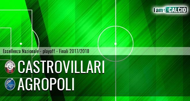 Castrovillari - Agropoli 1-0. Cronaca Diretta 10/06/2018