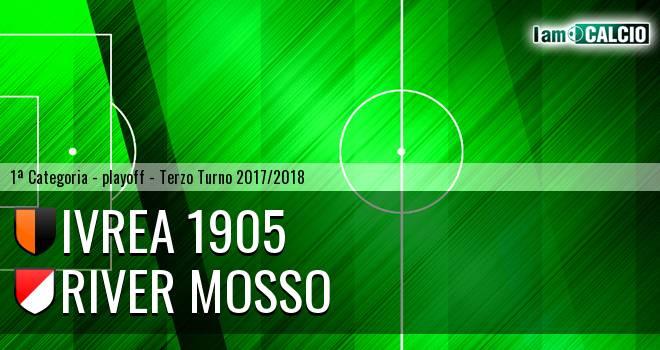 Ivrea 1905 - River Mosso 0-2. Cronaca Diretta 03/06/2018