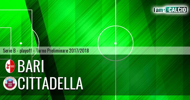 Cittadella - Bari 2-2. Cronaca Diretta 03/06/2018