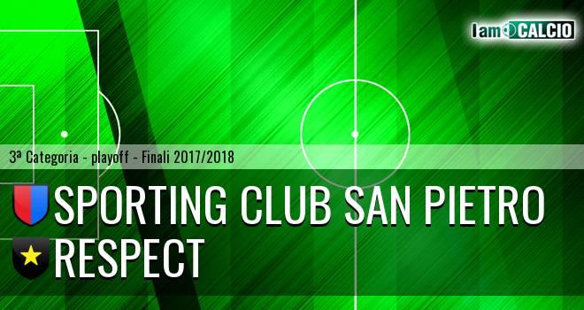 Sporting Club San Pietro - Respect