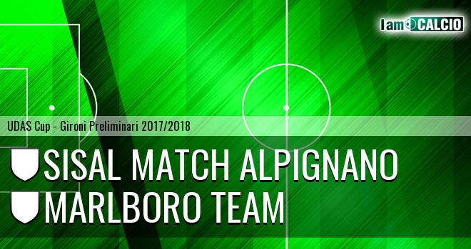 Sisal Match Alpignano - Marlboro Team