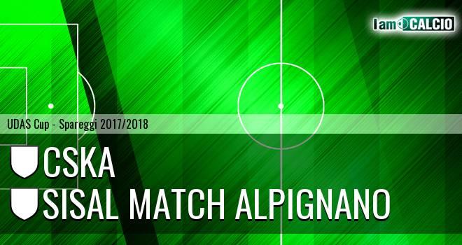 CSKA - Sisal Match Alpignano