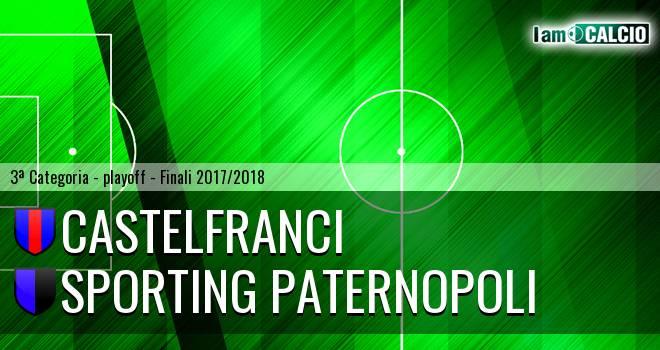 Castelfranci - Sporting Paternopoli