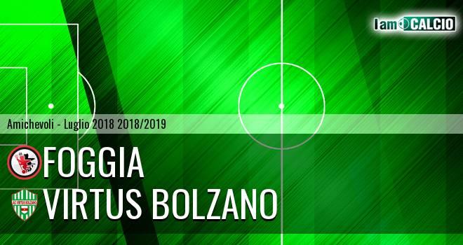 Foggia - Virtus Bolzano 4-0. Cronaca Diretta 25/07/2018