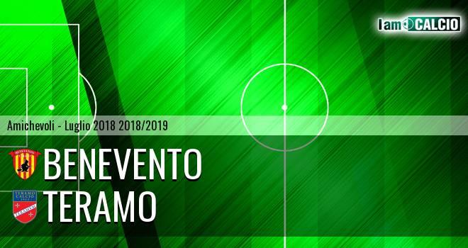 Benevento - Teramo 1-1. Cronaca Diretta 24/07/2018