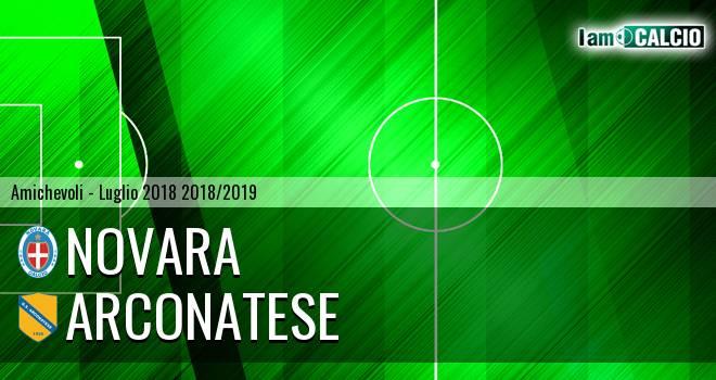 Novara - Arconatese 3-2. Cronaca Diretta 28/07/2018
