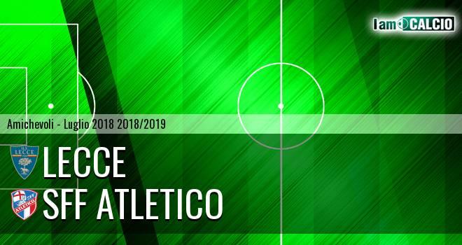 Lecce - Sff Atletico 5-0. Cronaca Diretta 28/07/2018