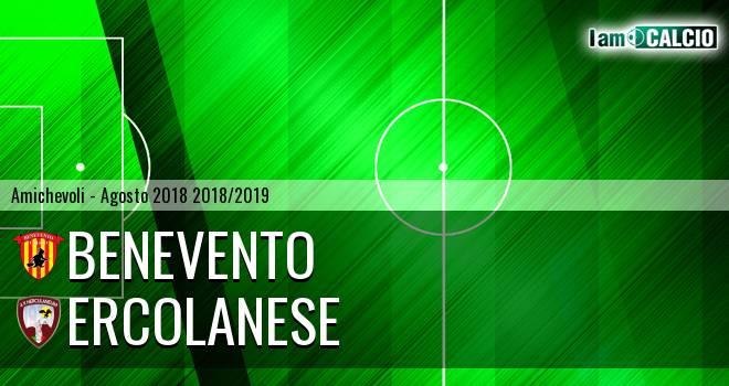 Benevento - Ercolanese 6-1. Cronaca Diretta 02/08/2018