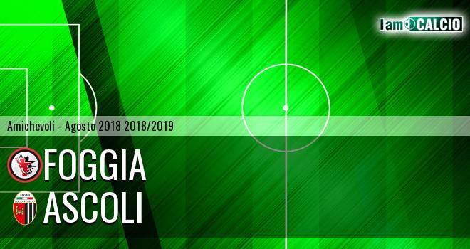 Foggia - Ascoli 1-0. Cronaca Diretta 18/08/2018