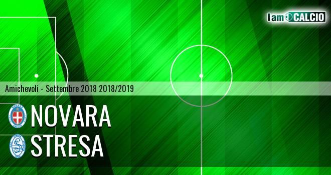 Novara - Stresa 6-0. Cronaca Diretta 01/09/2018