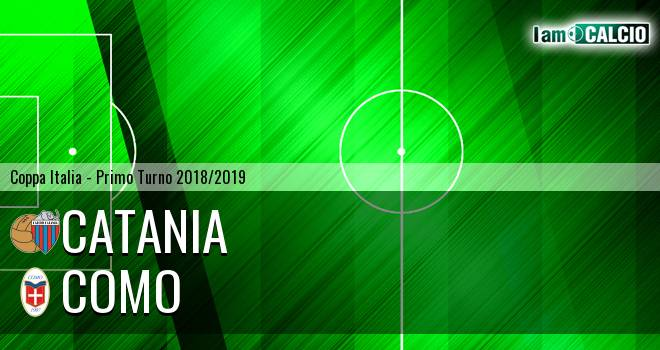 Catania - Como 3-0. Cronaca Diretta 29/07/2018