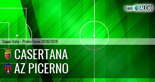 Casertana - AZ Picerno 2-0. Cronaca Diretta 28/07/2018