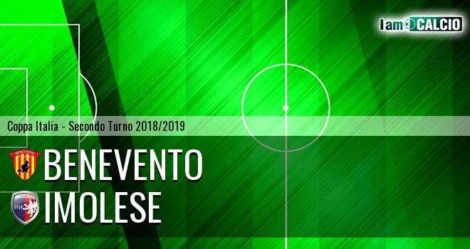 Benevento - Imolese 3-1. Cronaca Diretta 05/08/2018