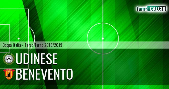 Udinese - Benevento 1-2. Cronaca Diretta 11/08/2018