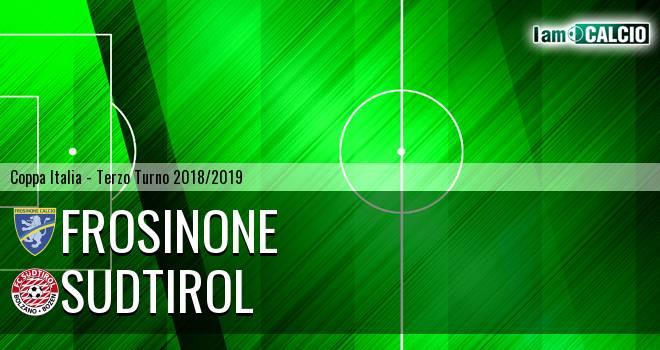 Frosinone - Sudtirol