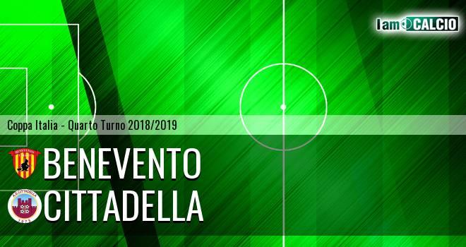 Benevento - Cittadella 1-0. Cronaca Diretta 04/12/2018
