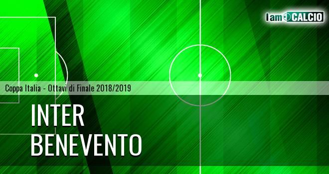 Inter - Benevento 6-2. Cronaca Diretta 13/01/2019