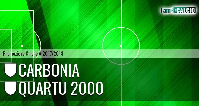 Carbonia - Quartu 2000