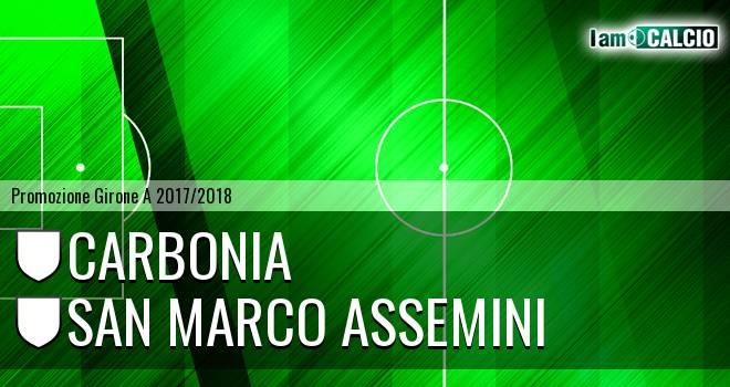 Carbonia - San Marco Assemini