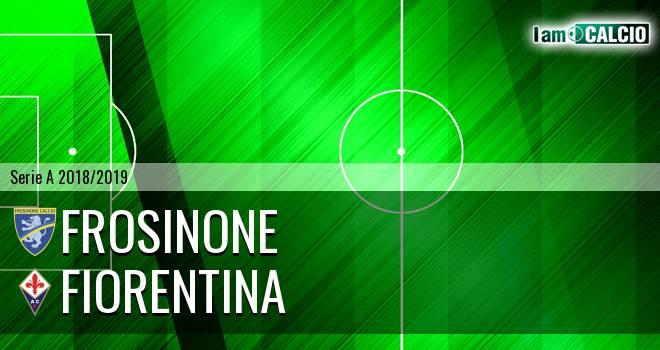 Frosinone - Fiorentina