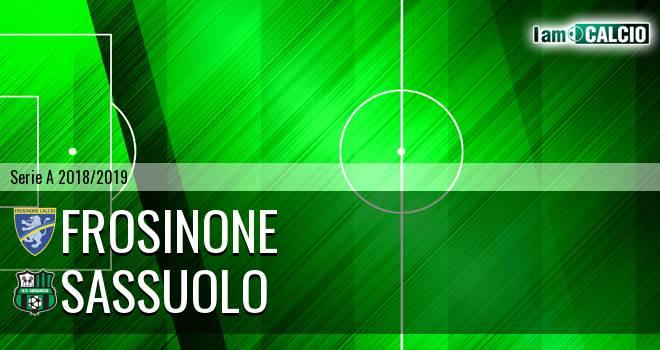 Frosinone - Sassuolo
