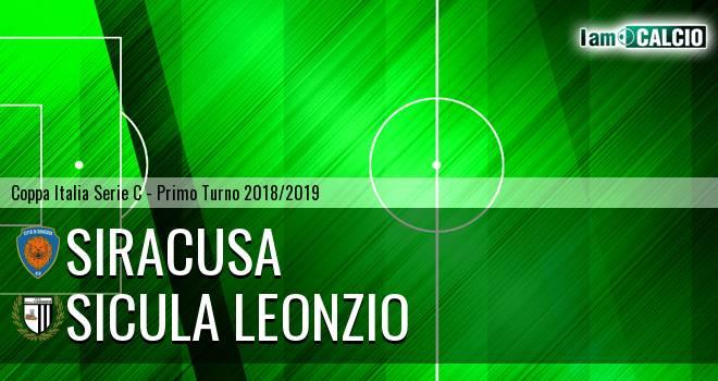 Siracusa - Sicula Leonzio