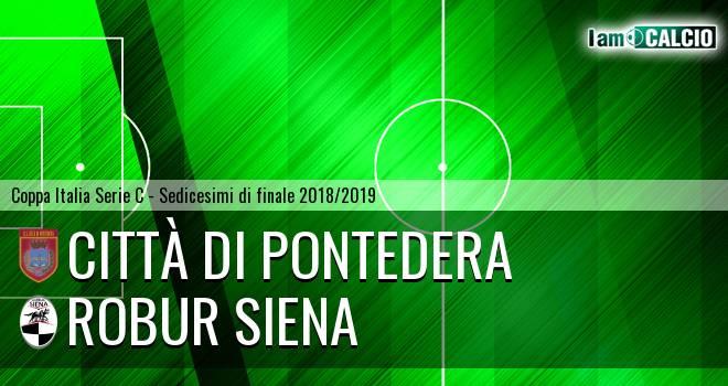 Città di Pontedera - Robur Siena