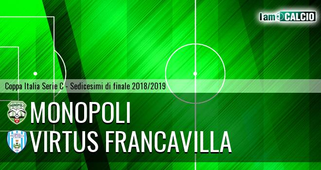 Monopoli - Virtus Francavilla