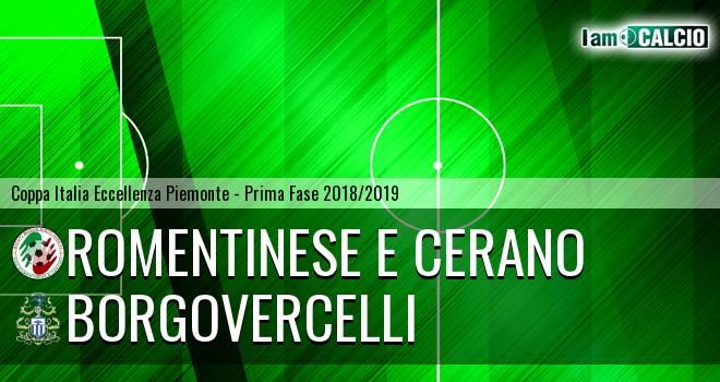 Borgovercelli - Romentinese e Cerano