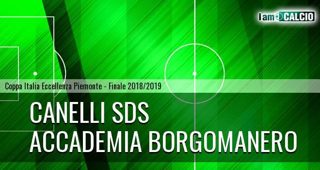 Canelli SDS - Accademia Borgomanero 1-0. Cronaca Diretta 06/02/2019