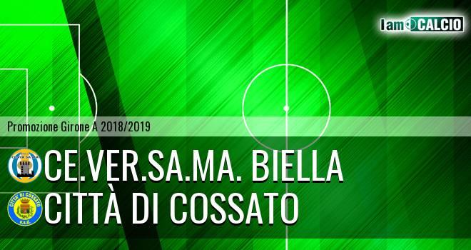 Ce.Ver.Sa.Ma. Biella - Città di Cossato 3-2. Cronaca Diretta 10/02/2019