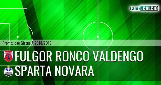 Fulgor Ronco Valdengo - Sparta Novara