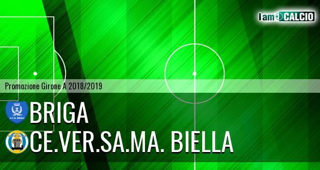 Briga - Ce.Ver.Sa.Ma. Biella 2-1. Cronaca Diretta 17/03/2019
