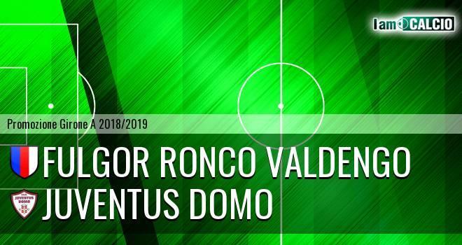 Fulgor Ronco Valdengo - Juventus Domo