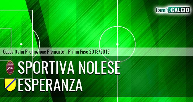 Sportiva Nolese - Esperanza