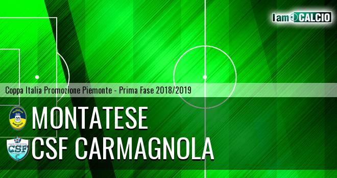 Montatese - Csf Carmagnola
