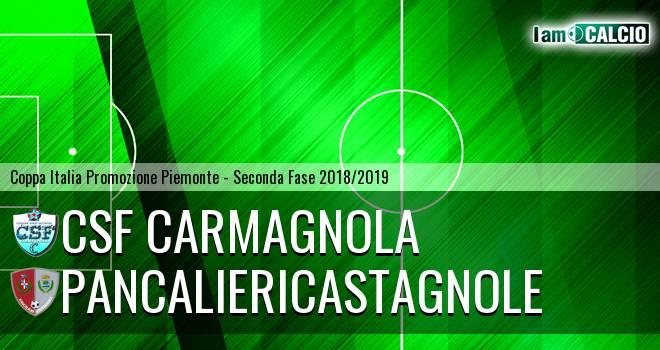 Csf Carmagnola - PancalieriCastagnole