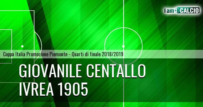 Giovanile Centallo - Ivrea 1905